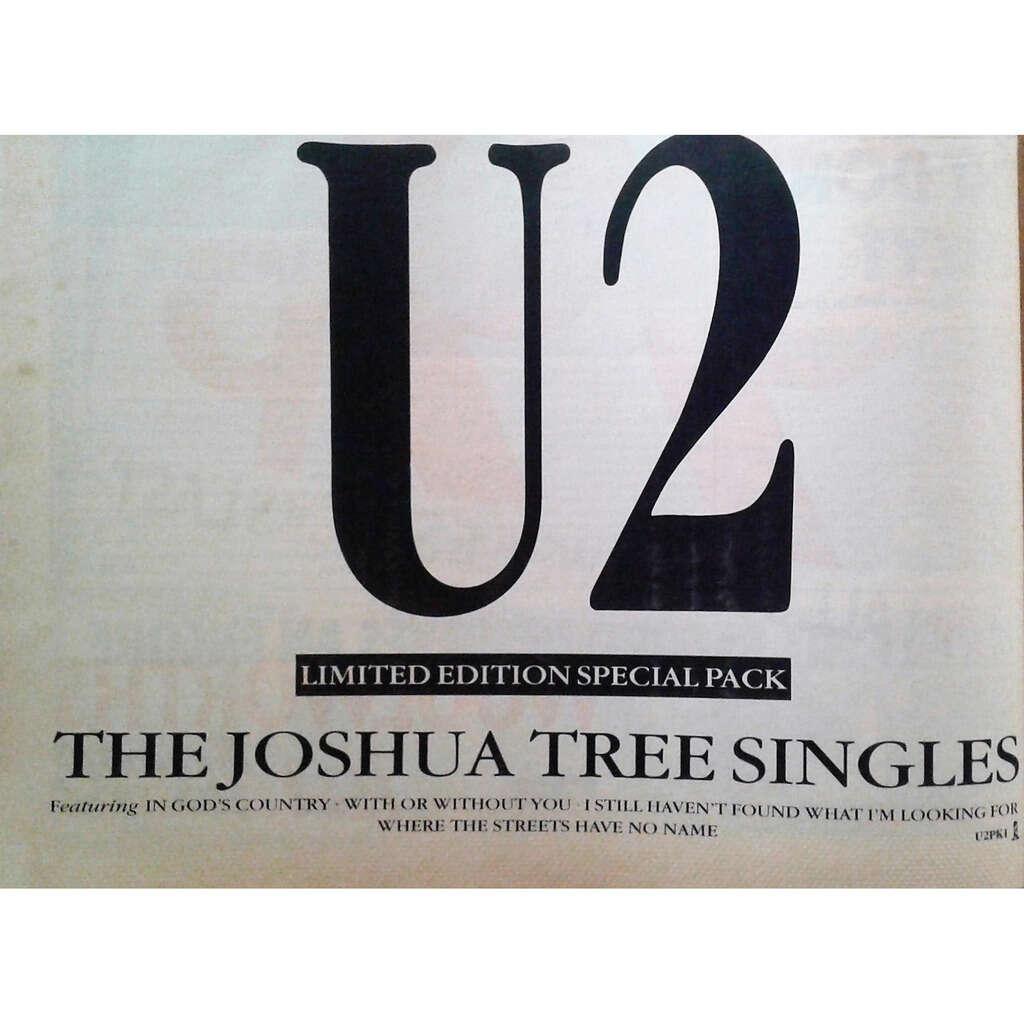 U2 The Joshua Tree Singles (UK 1988 promo type advert 'single release' poster flyer!)