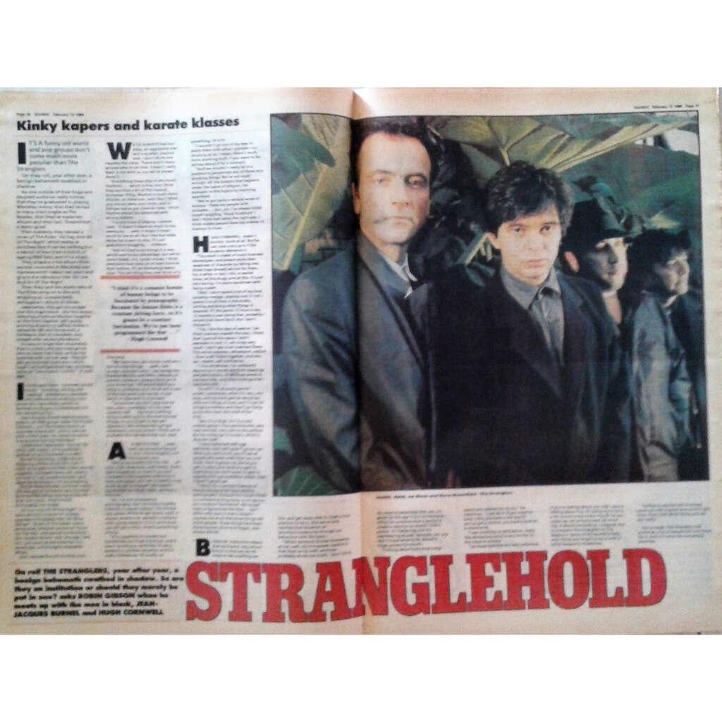 Stranglers Sounds (13.02.1988) (UK 1988 music magazine!!)