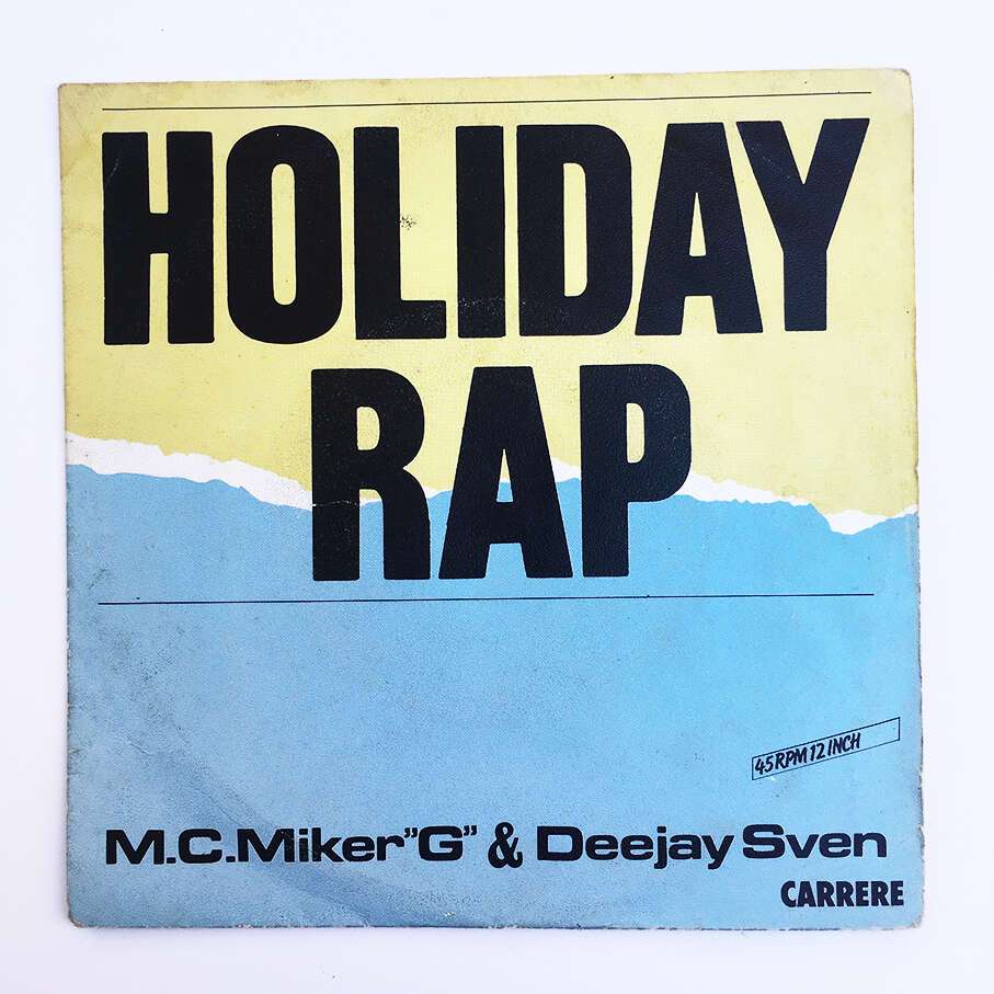 M.C.MikerG And Deejay Sven Holiday rap