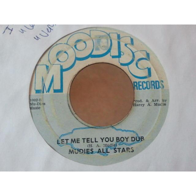 I Roy & Nora Dean / Mudies All Stars LET ME TELL YOU BOY (VER) / DUB