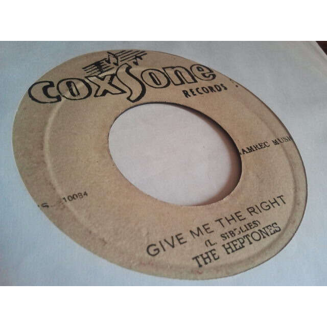 THE HEPTONES & THE SOUND DIMENSIONS GIVE ME THE RIGHT / GIVE ME THIS (VERSION)
