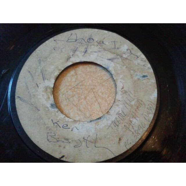 Ken Boothe / The Hamlins The Girl I Left Behind / Tell Me That You Love Me ORIG