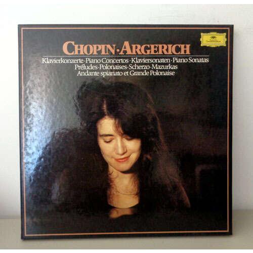 MARTHA ARGERICH CHOPIN piano works ( concertos - sonatas - pîeces )
