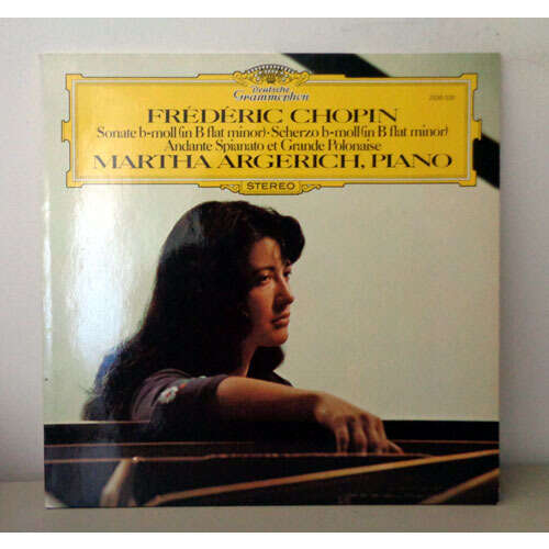 MARTHA ARGERICH CHOPIN sonate b moll - scherzo - andante spianato & grande polonaise