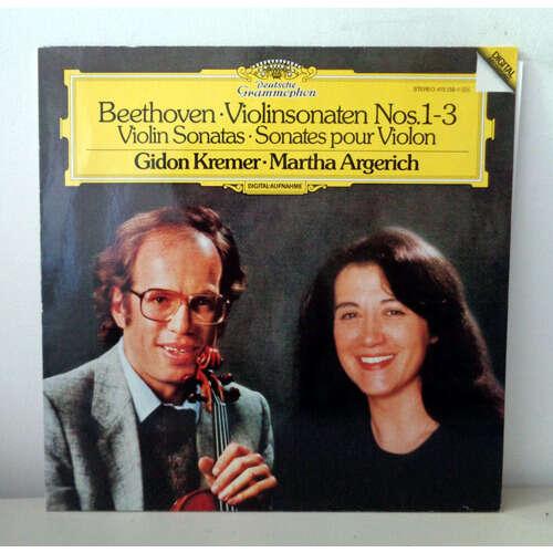 GIDON KREMER & MARTHA ARGERICH BEETHOVEN Violinsonaten n°1-3