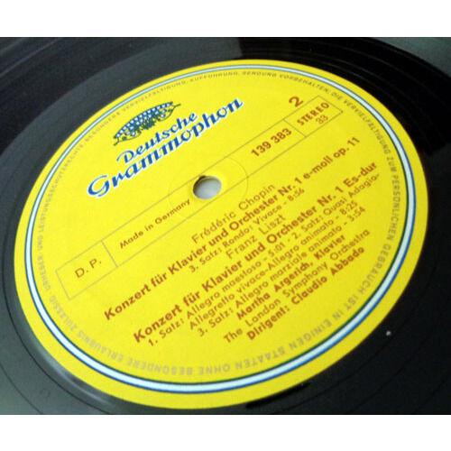 MARTHA ARGERICH & CLAUDIO ABBADO CHOPIN & LISZT Piano concertos