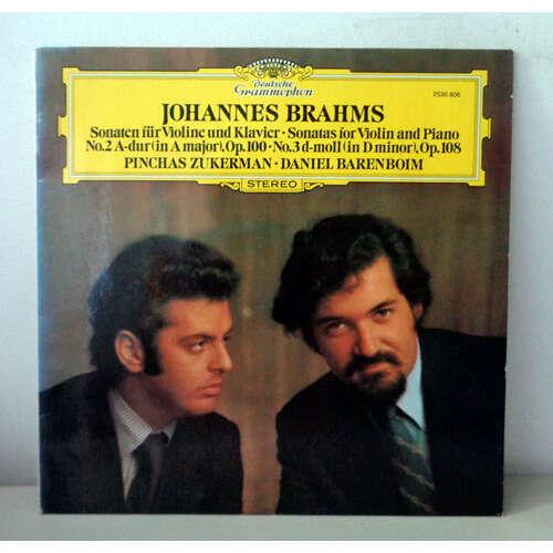 PINCHAS ZUKERMAN & DANIEL BARENBOIM BRAHMS Violin sonatas n°3 & 4