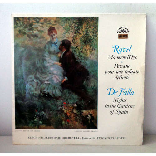 JAN PANENKA & ANTONIO PEDROTTI RAVEL Pavane pour une infante defunte - Ma mere L'oye DE FALLA Noche en los jardines de Espana