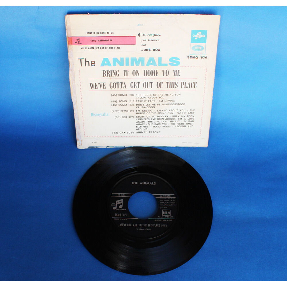 The Animals Bring It On Home To Me / We've Gotta Get Out Of This Place