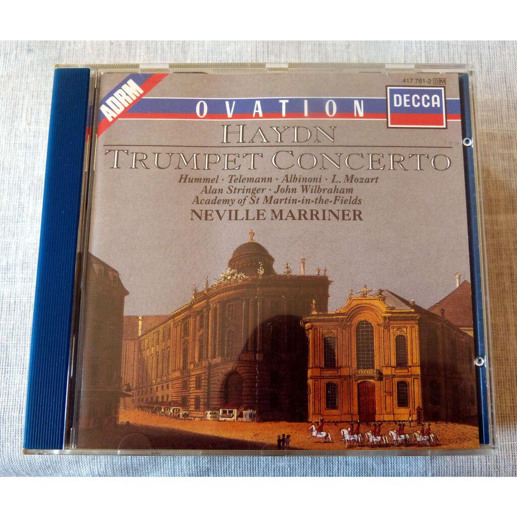 Neville Marriner Trumpet Concertos : Haydn, hummel, Albinoni, Telemann, Mozart