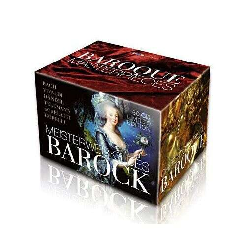 Various Baroque Masterpieces Box-Set 60 CD's
