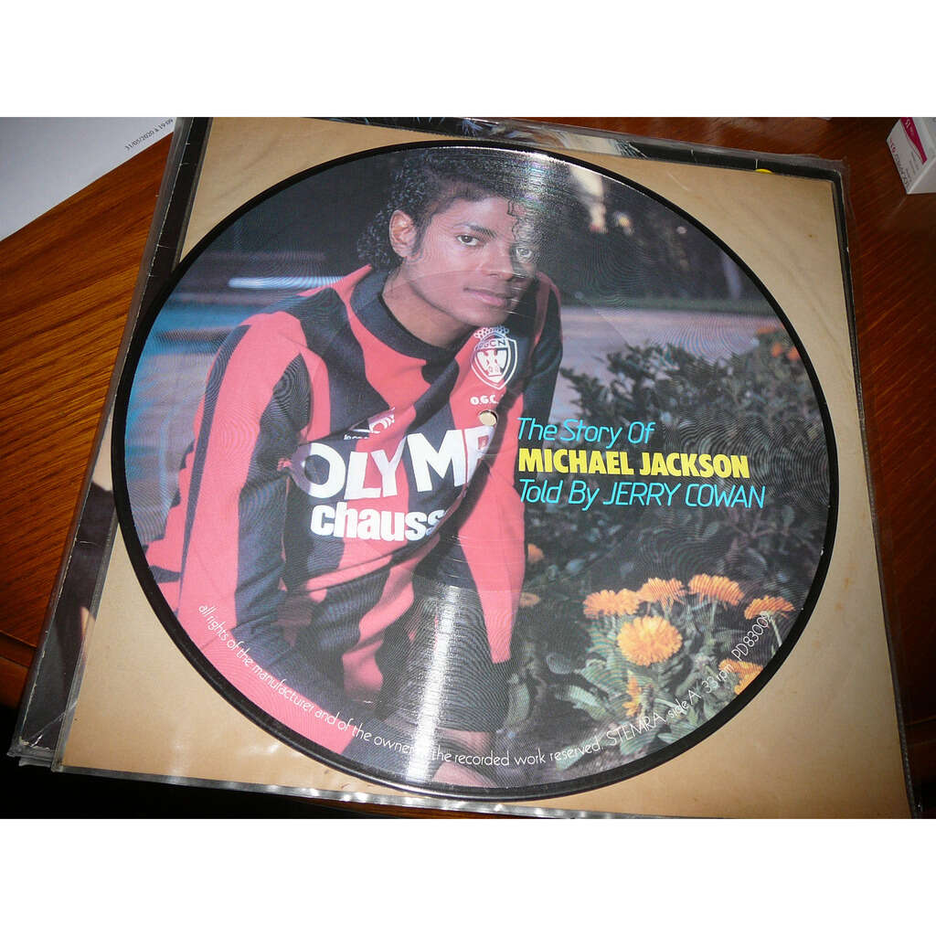 Michael Jackson Picture Disc - The Story Of Michael Jackson Told By Jerry Cowan