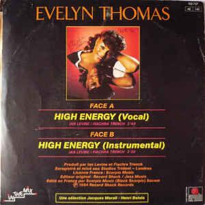 Evelyn Thomas High Energy
