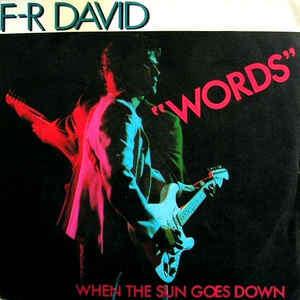 david, fr words