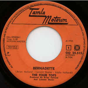 Four Tops Bernadette / I Got A Feeling