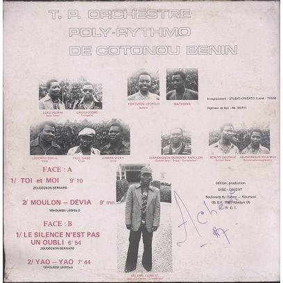 Orchestre poly-rythmo Réveil Disco Cubain