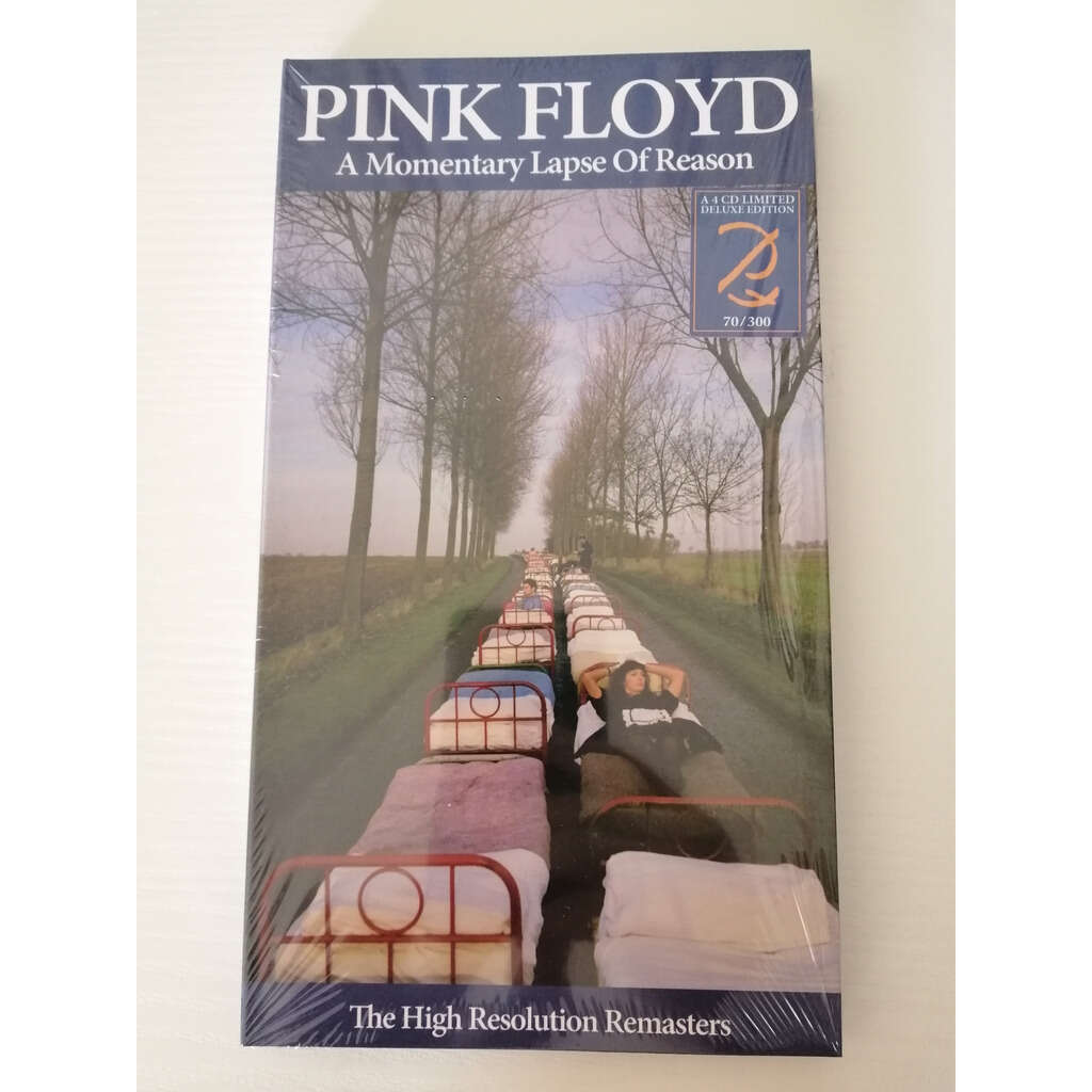 Pink Floyd 4CD A MOMENTARY LAPSE OF REASON HIGH RESOLUTION 300 COPIES - BOX LIMITED EDITION