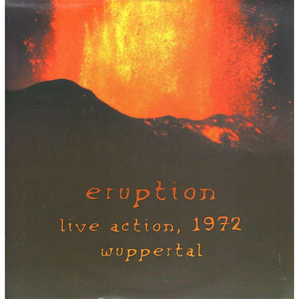 Conrad Schnitzler K Freudigmann W Seidel Unknown A Eruption - Live Action, 1972 Wuppertal