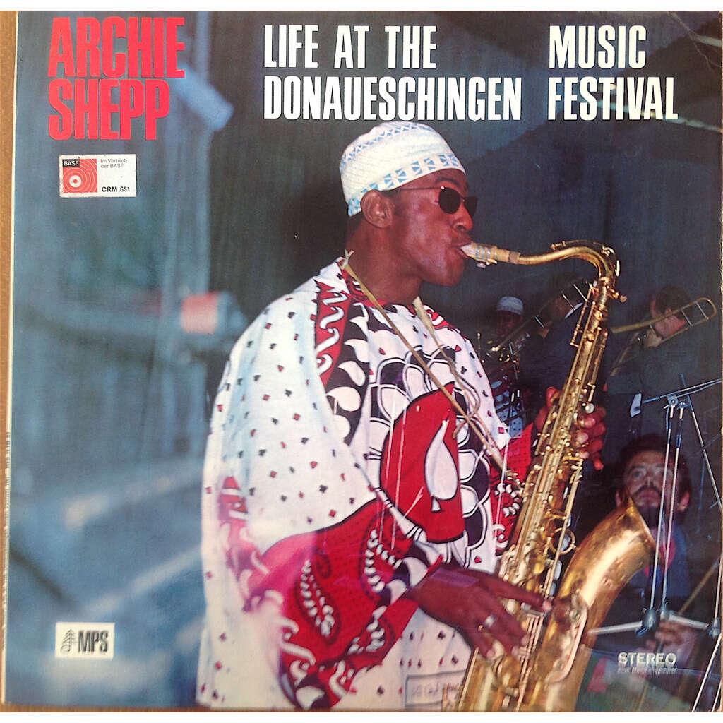 Archie Shepp Grachan Moncur R. Rudd Beaver Harris Life At The Donaueschingen Music Festival