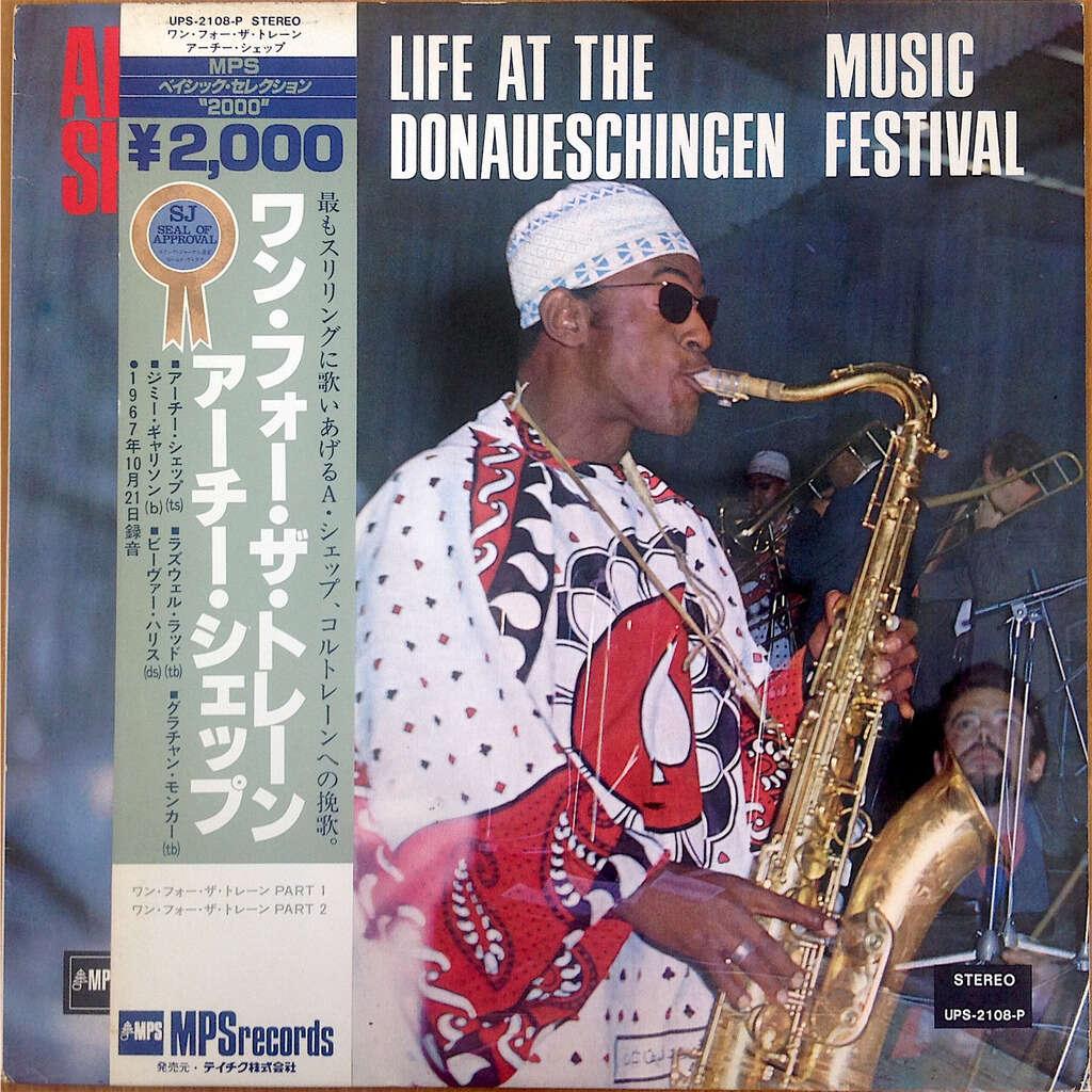 Archie Shepp Grachan Moncur Roswell Rudd Harris Life At The Donaueschingen Music Festival