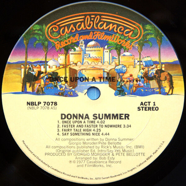 Donna Summer Once Upon A Time...