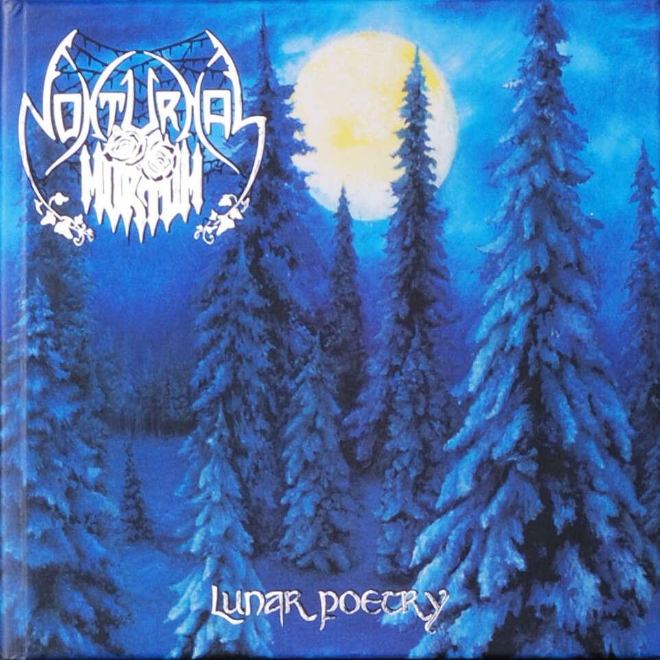 NOKTURNAL MORTUM Lunar Poetry. CD Digibook