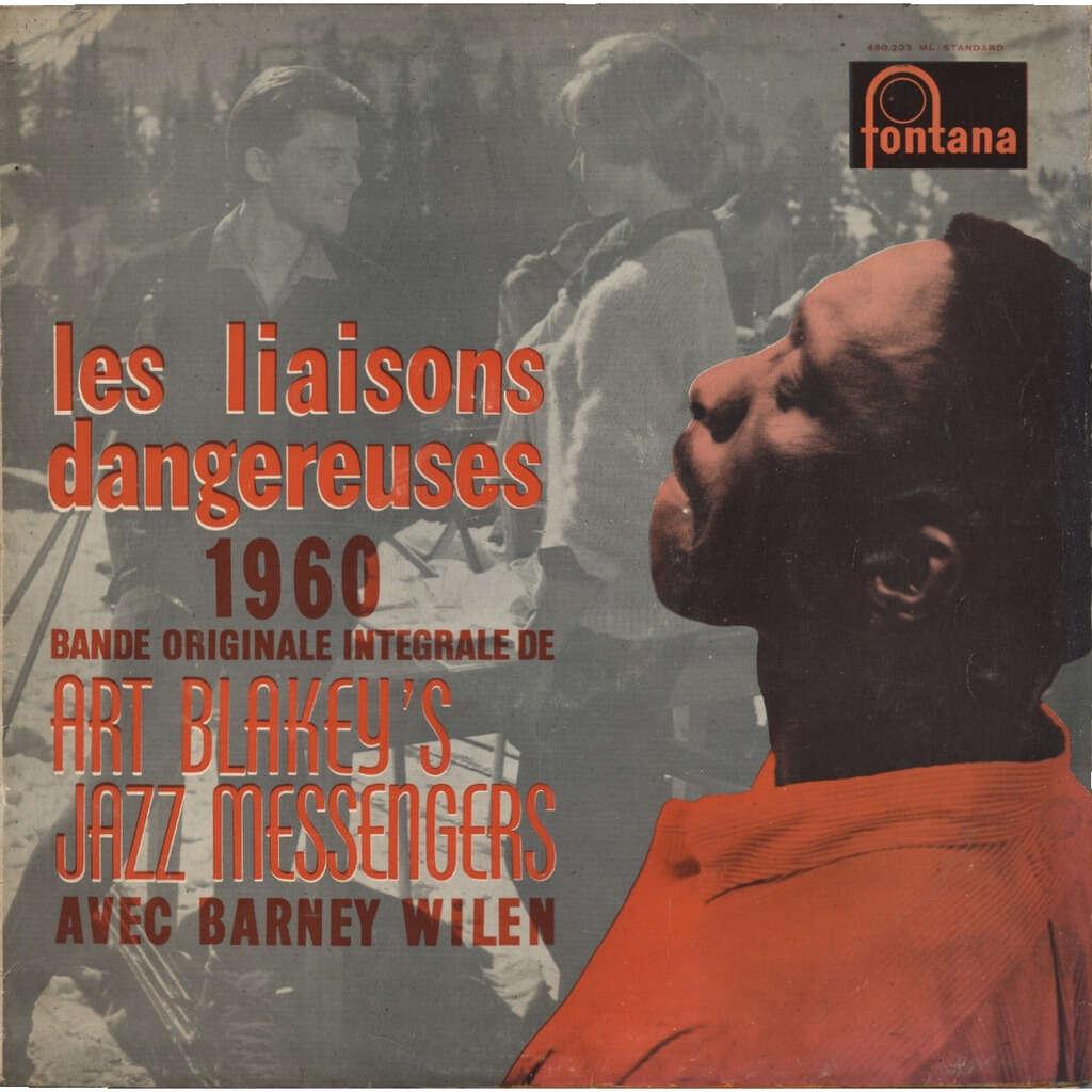 ART BLAKEY'S JAZZ MESSENGERS Barney Wilen les liaisons dangereuses 1960 (Roger Vadim) bande originale intégrale (integral soundtrack)