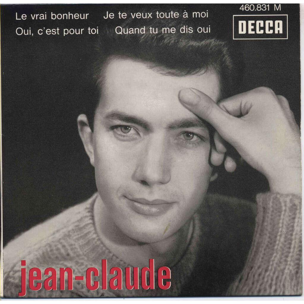 JEAN-CLAUDE ( Berthon : Disco Revue Les Rockers ) Le Vrai Bonheur (glad all over dave clark five) Je te veux toute à moi (I wanna be your man Beatles)