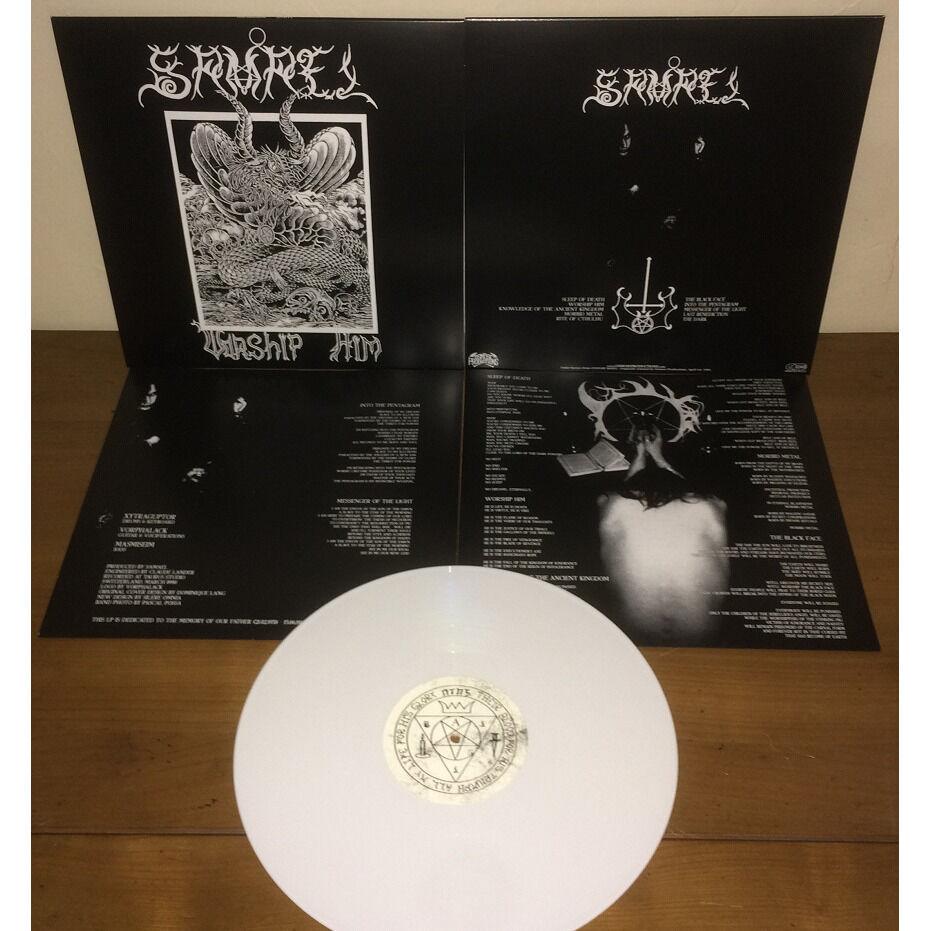 SAMAEL Worship Him. White Vinyl