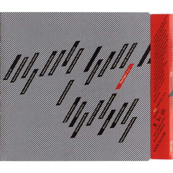 U2 Vertigo (UK 2004 Ltd 1-trk promo CD unique ps)