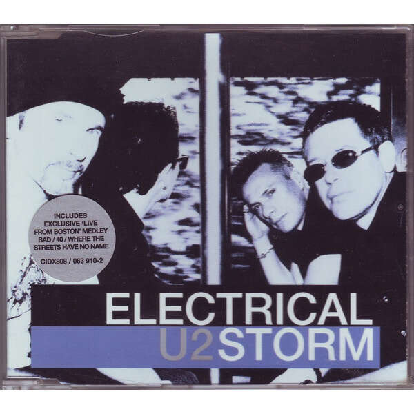 u2 Electrical Storm (Euro 2002 Ltd 3-trk cd2 full ps! stickered copy!)