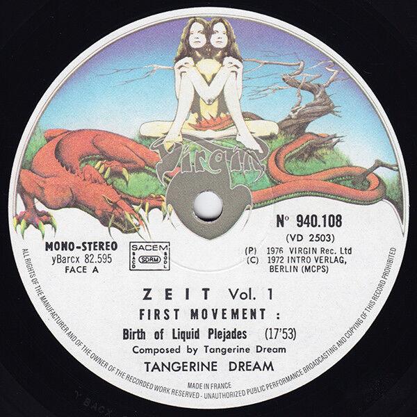 Tangerine Dream zeit