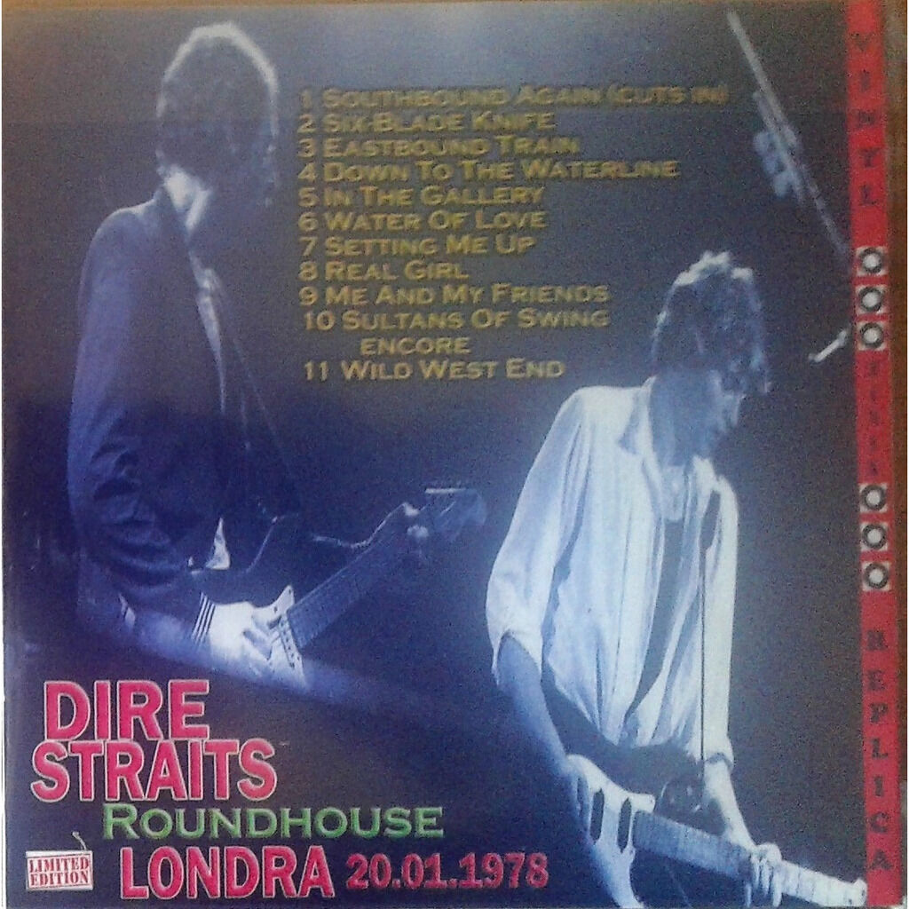 Dire Straits Live at 'Roundhouse' (London UK 20.01.1978)