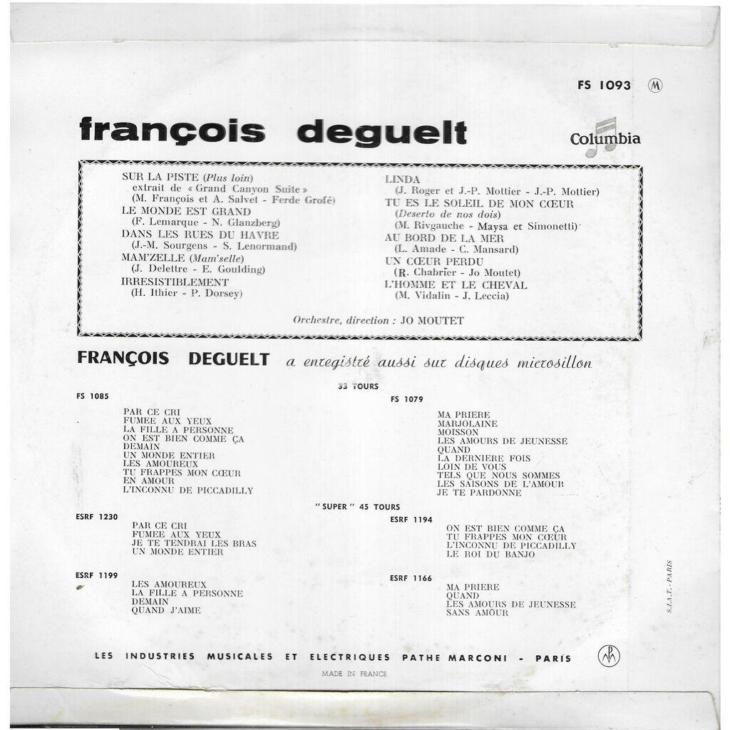 François DEGUELT Sur la piste