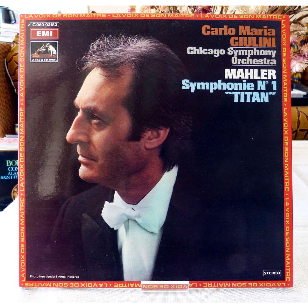 Gustav Mahler / Carlo Maria Giulini Symphonie N°1 Titan