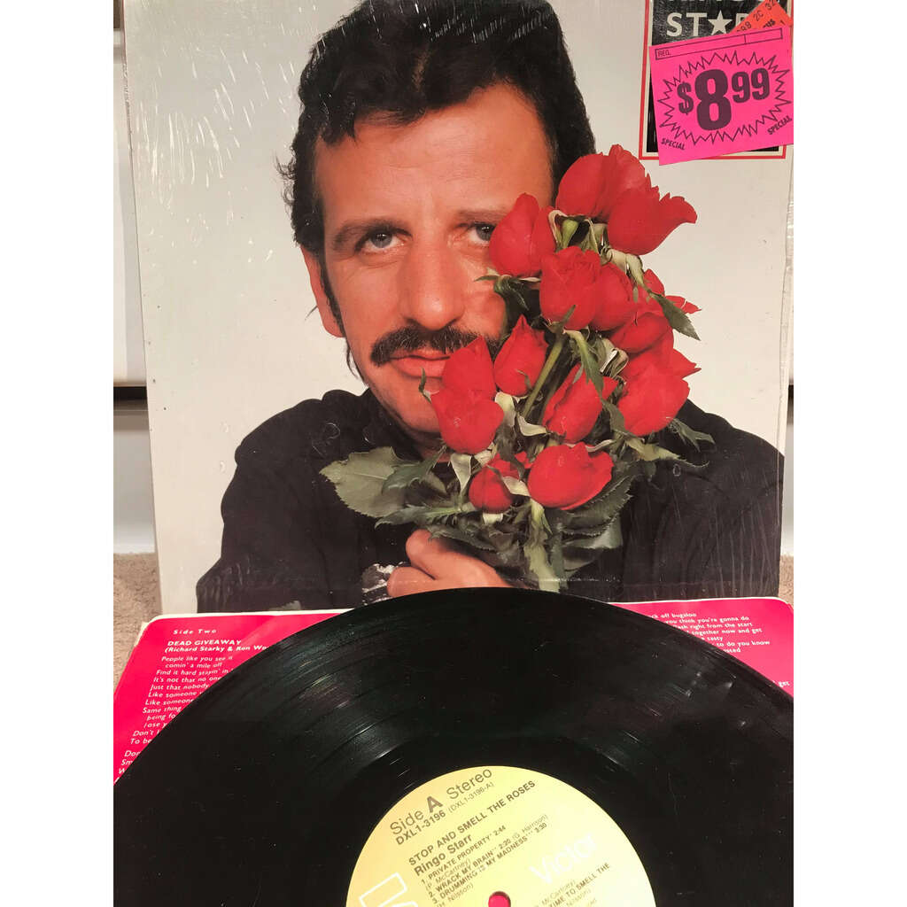 ringo starr Stop And Smell The Roses