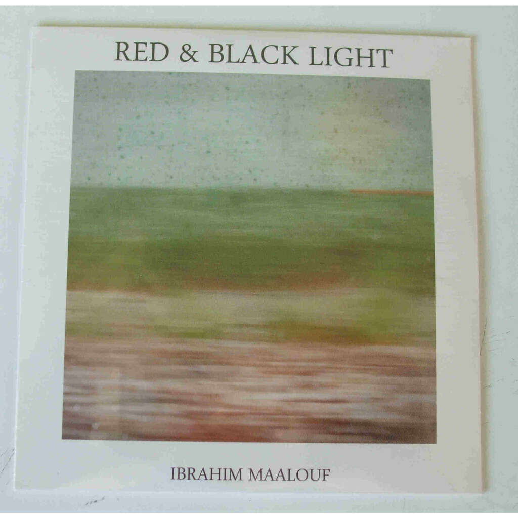 Ibrahim Maalouf Red & Black light