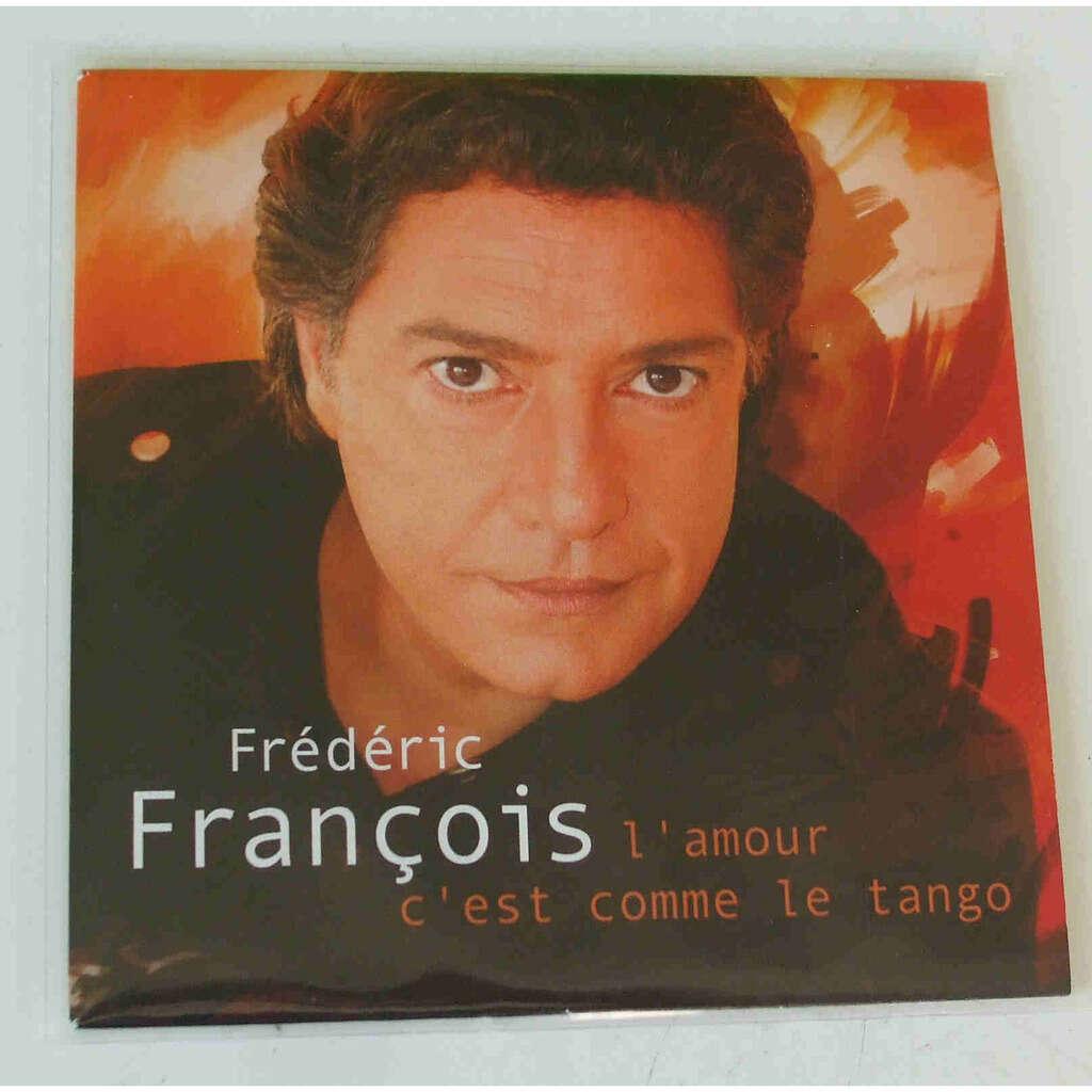 Frédéric François L'amour c'est comme le tango