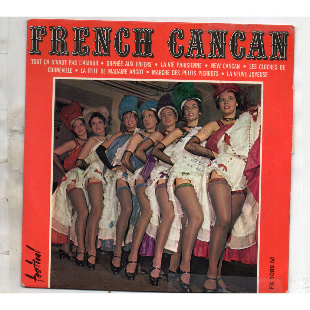 Jean LAPORTE - French Cancan French Cancan De Paris