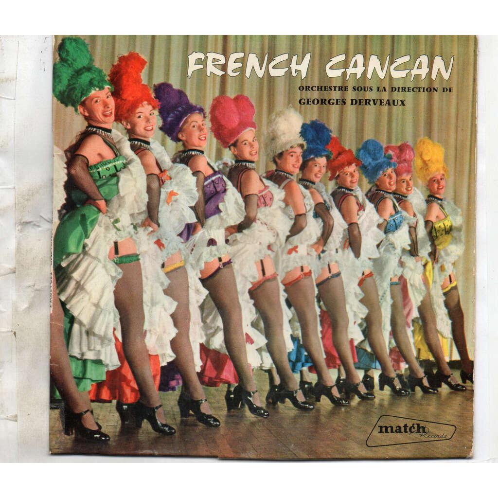 DERVEAUX GEORGES - FRENCH CANCAN La Mascotte/ Orphee Aux Enfers/ La Vie Parisienne/La Fille de Madame Angot