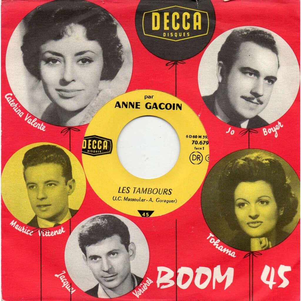 Anne Gacoin Les Tambours / Les Champignons