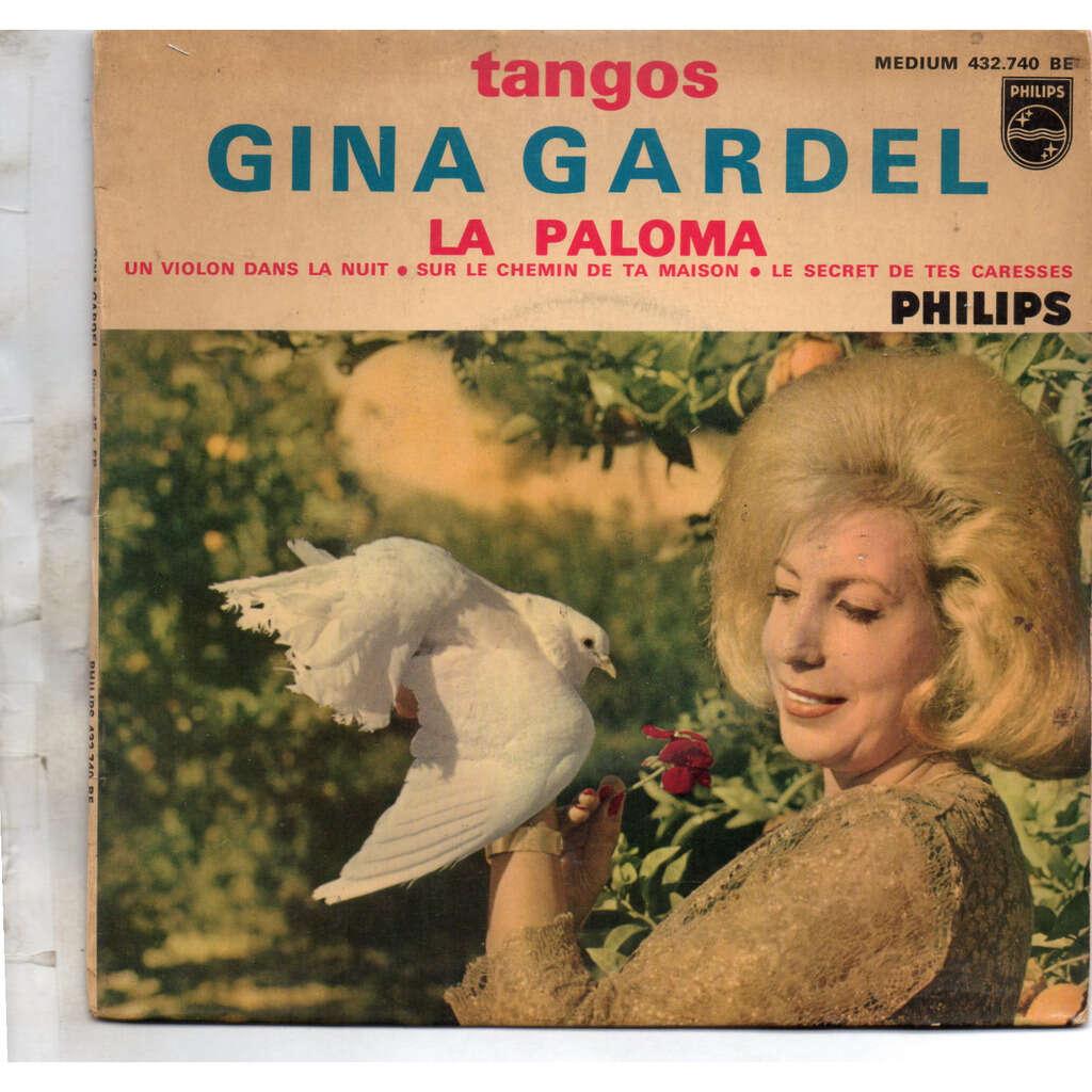 GINA GARDEL LA PALOMA / un violon dans la nuit / sur le chemin de ta maison / le secret de tes caresses