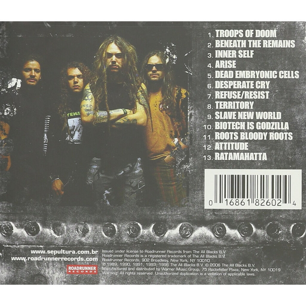 Sepultura The Best Of (cd)