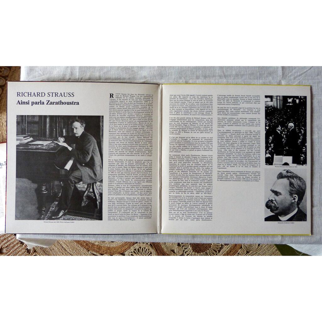 Richard Strauss / Karl Boehm Aisi parla Zarathoustra