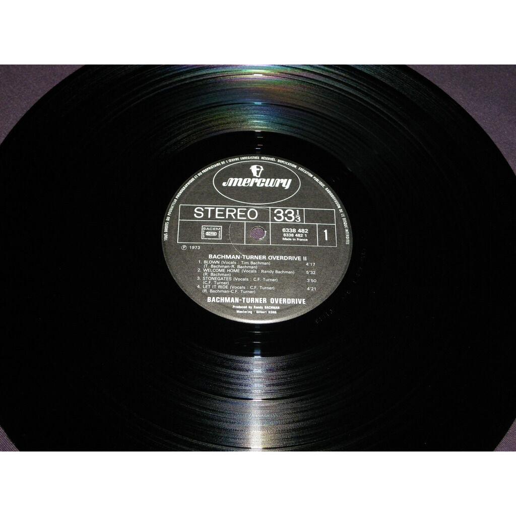 bto ( bachman-turner overdrive ) Bachman-Turner Overdrive II