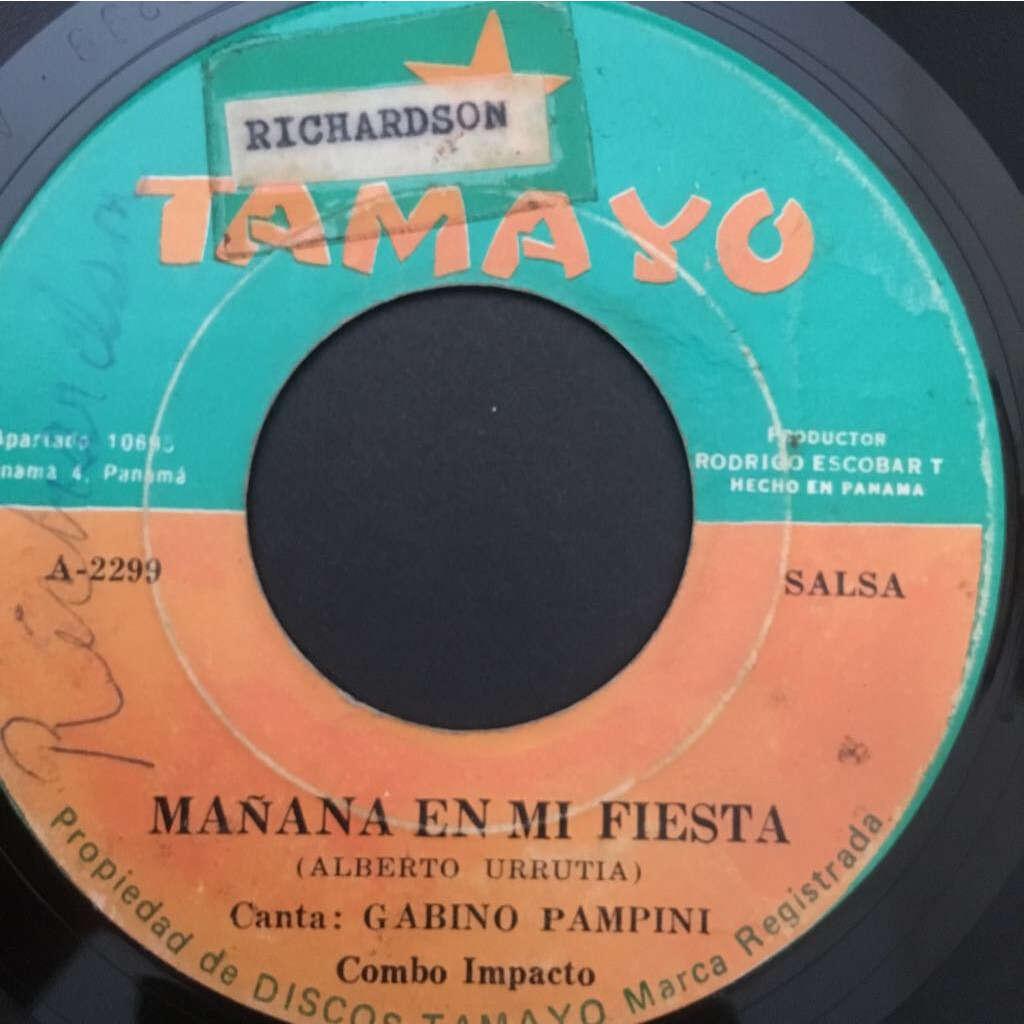 Combo Impacto canta Gabino Pampini Manana en mi fiesta / Dos noches