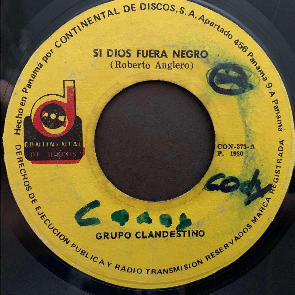 Grupo Clandestino Si Dios Fuera Negro / Tumba La Cana