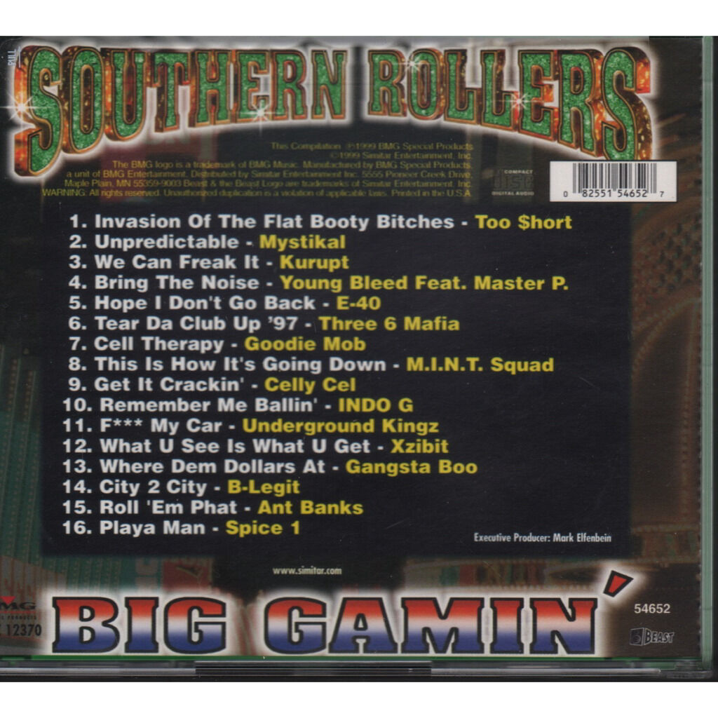 divers (various artists) southern rollers big gamin'