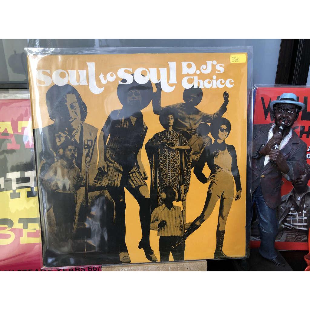 Soul to soul Dj's choice