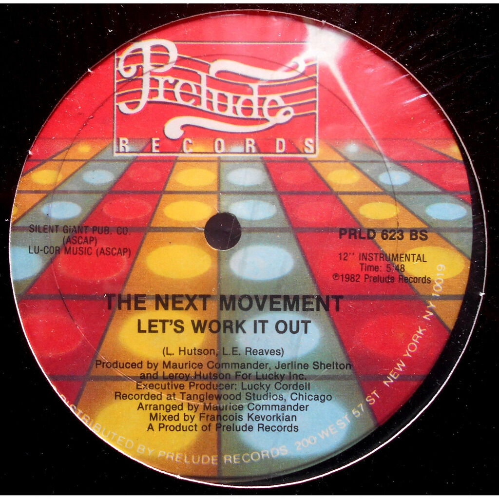 the next movement let's work it out / let's work it out (instrumental)